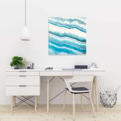 Canvas 24 x 24 - Textured geode