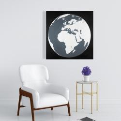 Canvas 24 x 24 - Earth