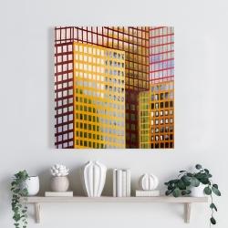 Canvas 24 x 24 - Skyscrapers