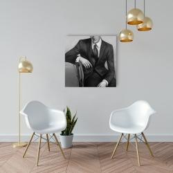 Canvas 24 x 24 - Businessman