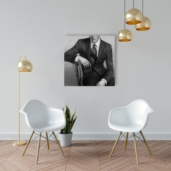 Canvas 24 x 24 - Businessman