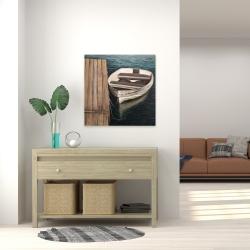 Canvas 24 x 24 - Rowboats