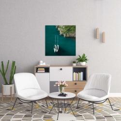 Canvas 24 x 24 - Smooth sailing