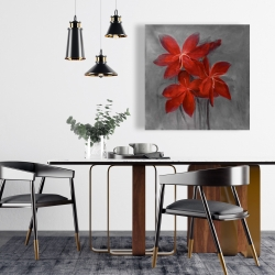 Canvas 24 x 24 - Asiatic lily
