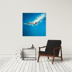 Canvas 24 x 24 - Diving jump