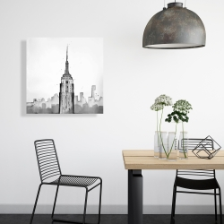 Canvas 24 x 24 - Empire state building