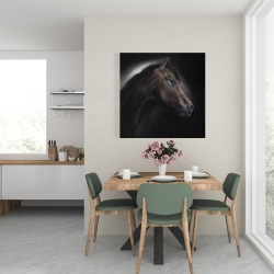 Canvas 24 x 24 - Loneliness horse