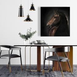 Canvas 24 x 24 - Spirit the horse