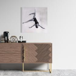 Canvas 24 x 24 - Dancer on aerial silks