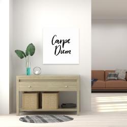 Canvas 24 x 24 - Carpe diem