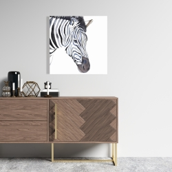 Canvas 24 x 24 - Zebra
