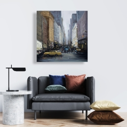 Canvas 24 x 24 - In the city