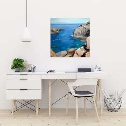 Canvas 24 x 24 - California coast