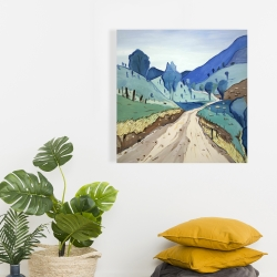 Canvas 24 x 24 - Tuscany trail