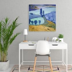 Canvas 24 x 24 - Tuscany field