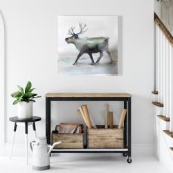 Canvas 24 x 24 - Caribou
