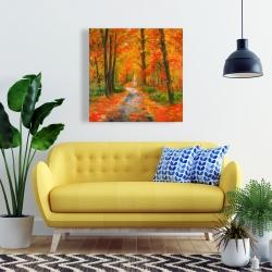 Canvas 24 x 24 - Autumn trail