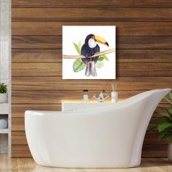 Canvas 24 x 24 - Toucan