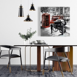 Canvas 24 x 24 - European street