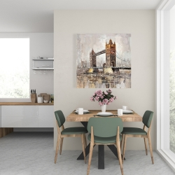 Canvas 24 x 24 - London tower bridge