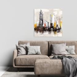 Canvas 24 x 24 - Artistic cityscape