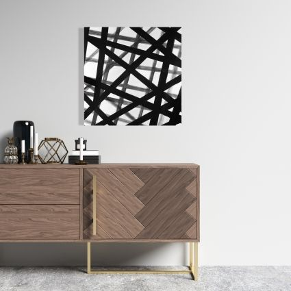 Abstract bold lines