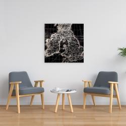 Canvas 24 x 24 - Roman britain maps