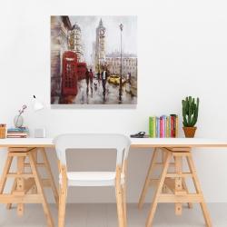 Canvas 24 x 24 - The big ben at london