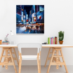 Canvas 24 x 24 - Times square perspective