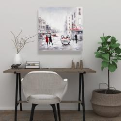 Canvas 24 x 24 - Peaceful street scene