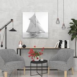 Canvas 24 x 24 - Sailing ship