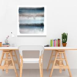 Canvas 24 x 24 - Blue stripes