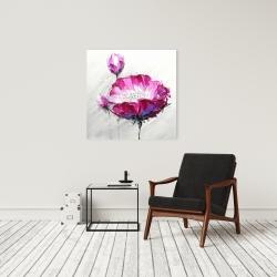 Canvas 24 x 24 - Fuchsia wild flower