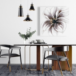 Canvas 24 x 24 - Purple orchid