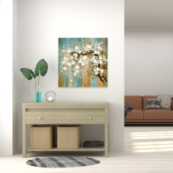 Canvas 24 x 24 - Relaxing cherry blossoms