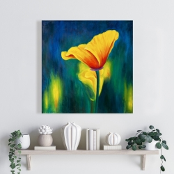 Canvas 24 x 24 - Superb contrast flowers