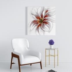 Canvas 24 x 24 - Resplendent pink orchid