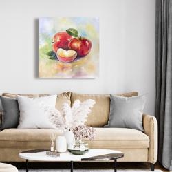 Canvas 24 x 24 - Succulent apples