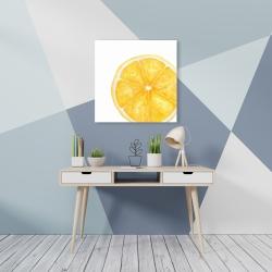 Canvas 24 x 24 - Lemon slice
