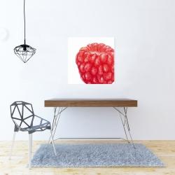 Canvas 24 x 24 - Raspberry
