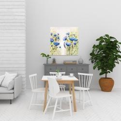 Canvas 24 x 24 - Blue garden