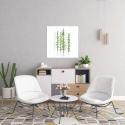 Canvas 24 x 24 - Minimalist trees
