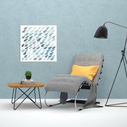 Canvas 24 x 24 - X pattern