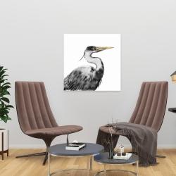 Canvas 24 x 24 - Great heron