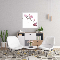 Canvas 24 x 24 - Branch of cherry blossoms