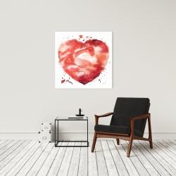 Canvas 24 x 24 - Big heart
