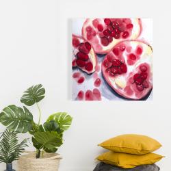 Canvas 24 x 24 - Pomegranate pieces