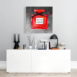 Perfume red bottle