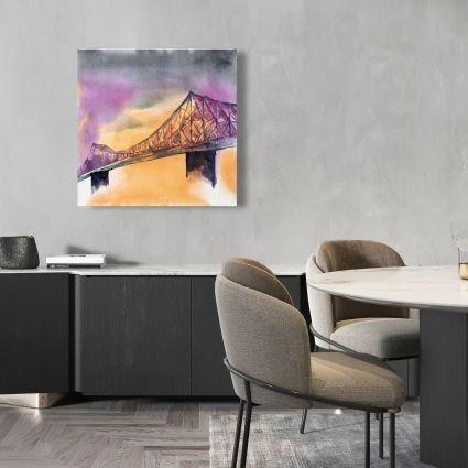 Montreal jacques-cartier bridge