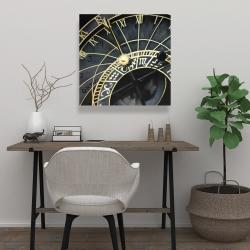 Canvas 24 x 24 - Astrologic clock